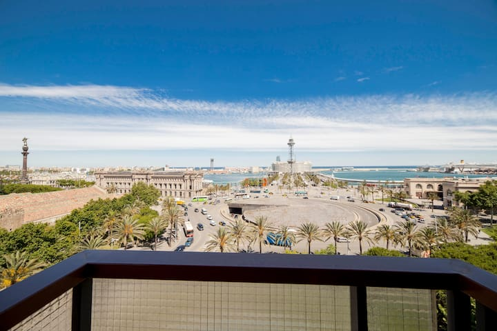 Incredible views, central, family offers - Barcelona - Daire