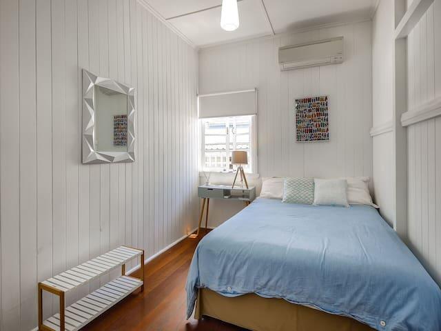 Bedroom 4,  double bed, wardrobe & A/C