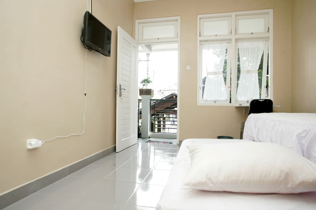 clean, simple and comfortable room