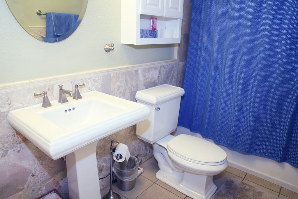 Bathroom on First Level