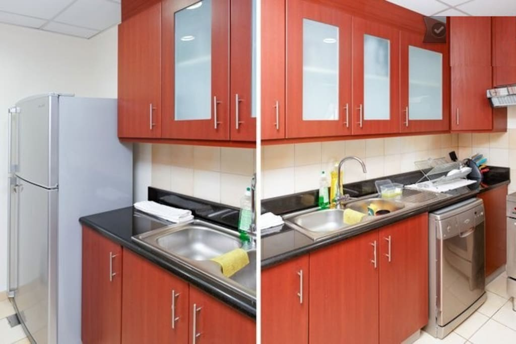 Apartment Shared Kitchen