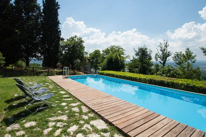 Garden apartment in countryhouse - Province of Viterbo - Apartamento