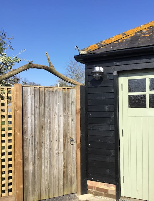 Gate to Cottage