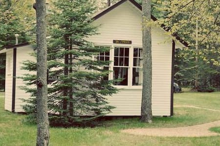 "Cozy ""Spruce"" Lakefront Cabin in Eagle River, WI - Eagle River"