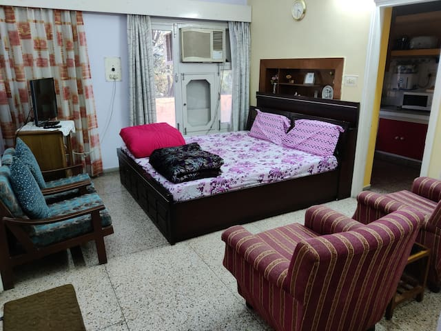 36 Fragrance Retreat-2BHK Terrace, Wifi, Park view