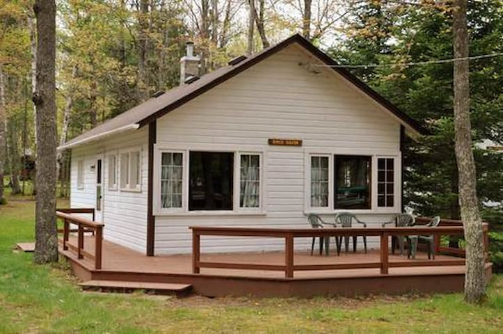"""Birch Haven"" Lakefront Cabin in Eagle River, WI - Eagle River - Cabin"