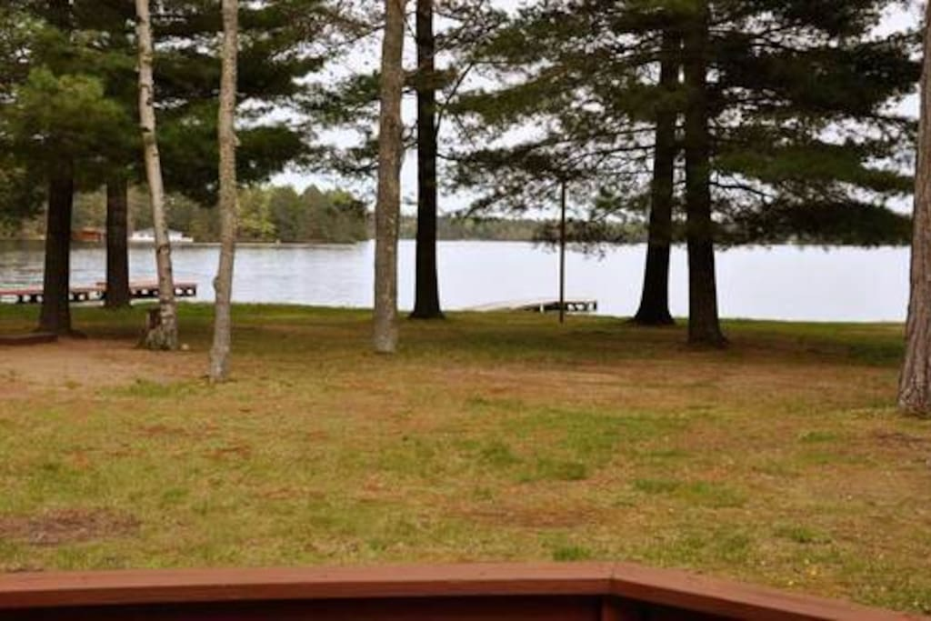 View of Eagle Lake from front deck