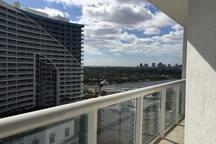 Balcony Southwest Waterway view