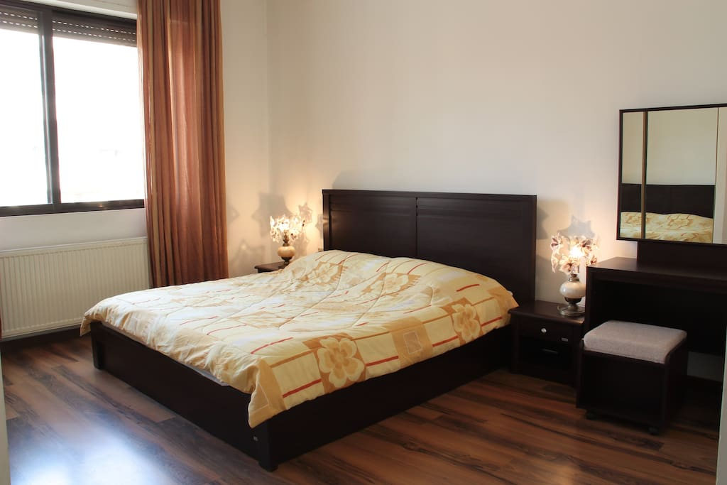 Master Bedroom with it's own private bathroom