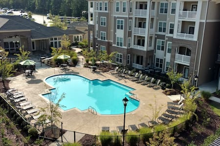 Beautiful apartment with private bed & bath. - Raleigh