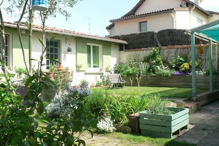 Familial bedrooms near the sea - Saint-Brevin-les-Pins - Inap sarapan
