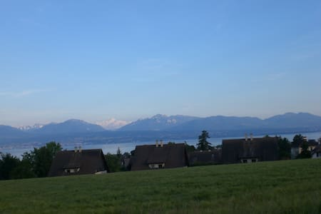 Face to the lake and the Alps! - Morges