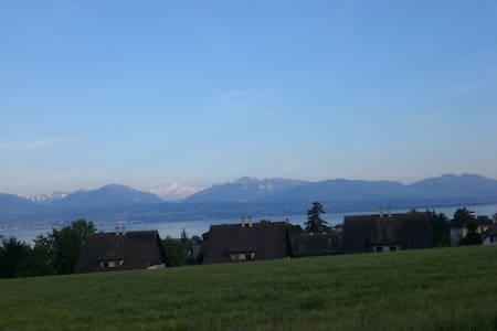 Face au lac et aux montagnes - Morges - Bed & Breakfast