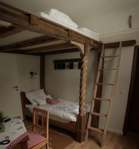 Bedroom for 3 on adventure island - Eberstedt - Haus