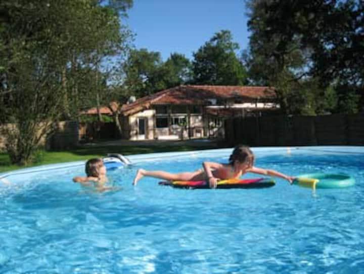 La villa du golf, 14 personnes, piscine