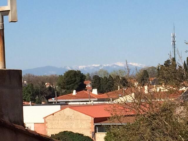 T1 bis Cabestany-Perpignan. WIFI, Clim, balcon