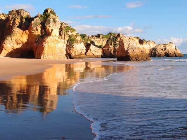 Beach in Alvor