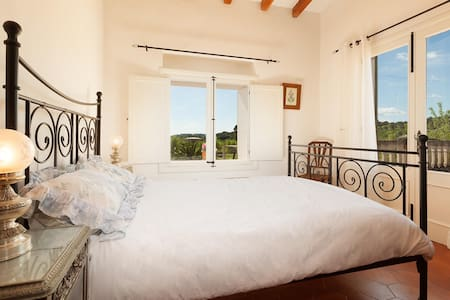 Double room with views with ensuite and terrace - Caimari