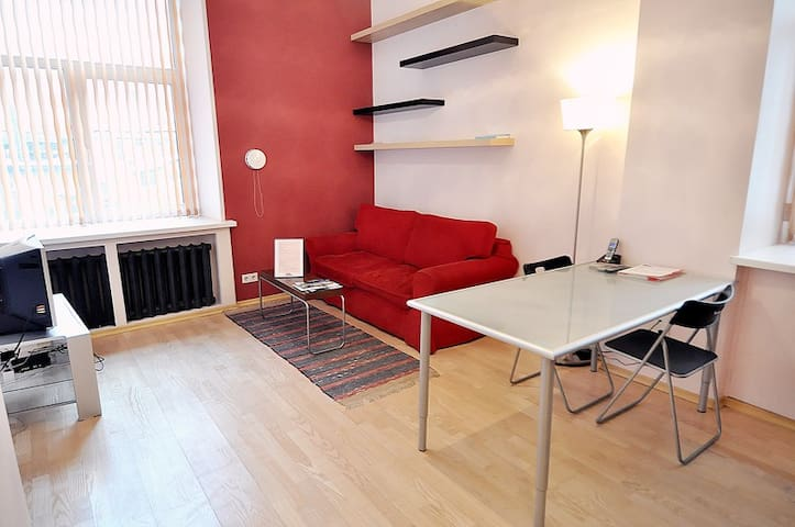 Cosy flat Tverskaya, Red Square 117 - Moscow - Apartment