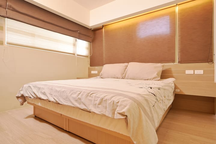 Central Family 2b Rm suite #near MRT #Taipei Arena - Songshan District - Appartement