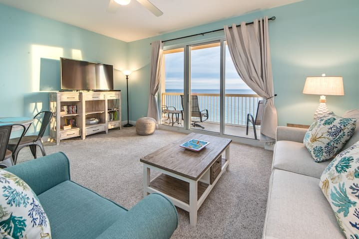 ☀Beachfront for 6☀Calypso 2-807-1BR+Bunks-Oct 20 to 23 $600 Total! 2 Pools!