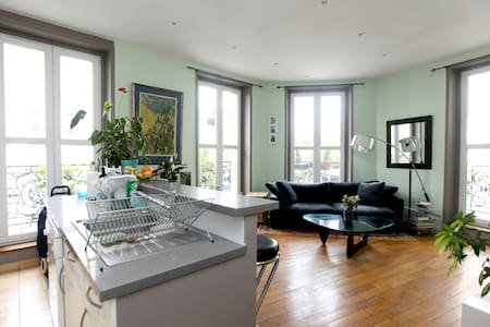 Room+private bathroom in the MARAIS - Paris