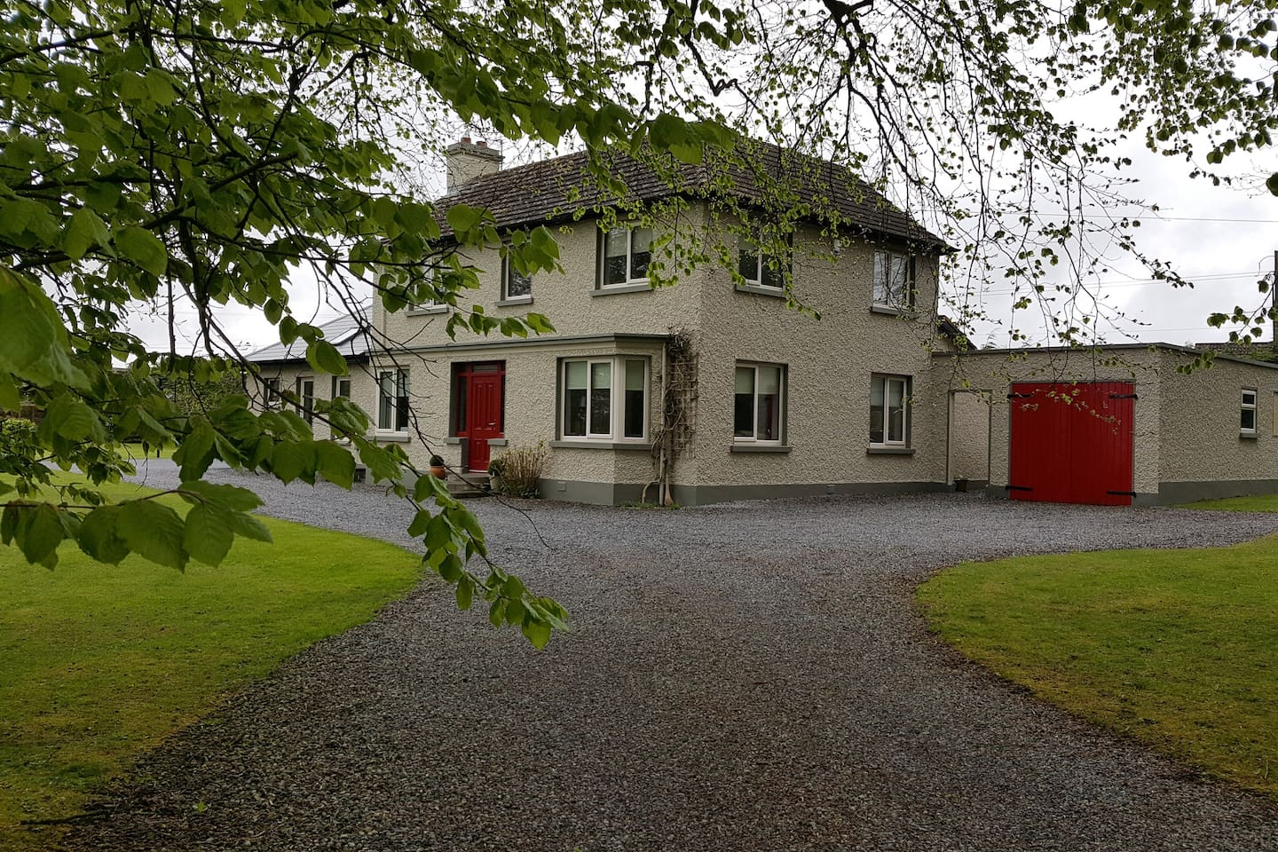 Family home set in a village in the middle of Ireland.