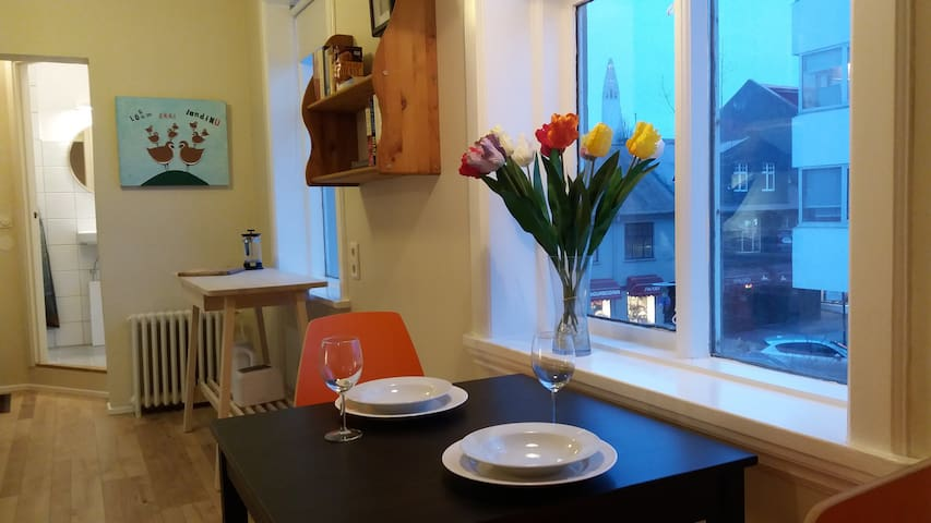 Private and Bright Apartment in the City Center - Reykjavík - Apartmen