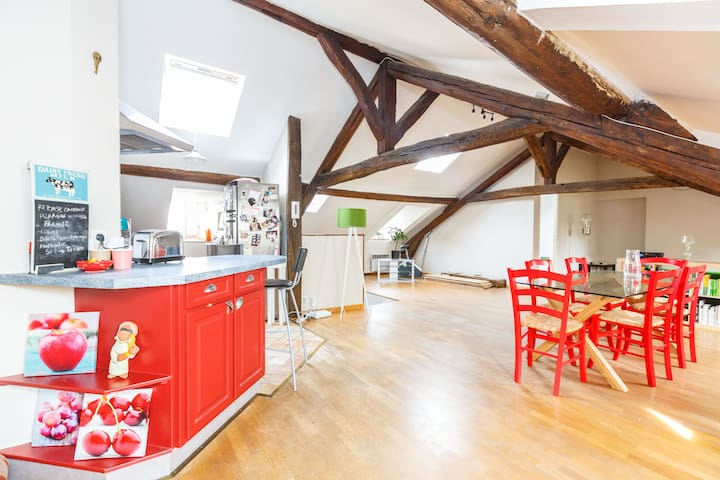 Perfect family loft near Paris ! - Clichy - Loft