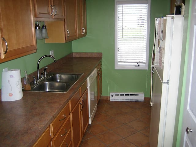 New kitchen with dishwasher!