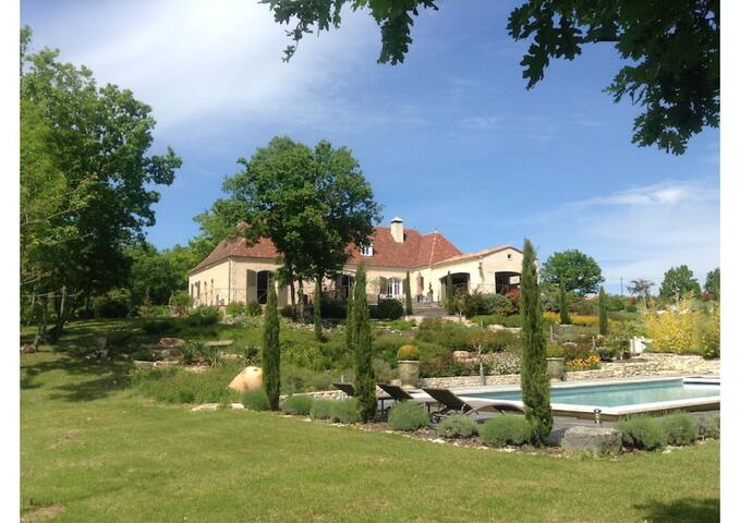 VILLA CHAMP DEL REY - Saint-Cirq-Souillaguet - House