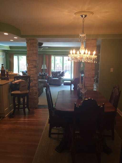 A get away dream houses for rent in kansas city for Best private dining rooms kansas city