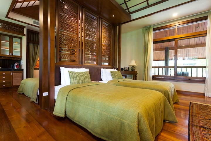 Reuan See Tiang (Villa for 4 persons) - Umong - Bungalow