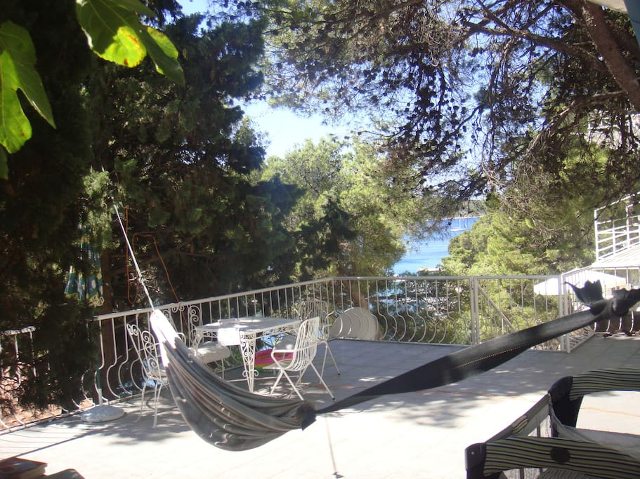 hammock available on request