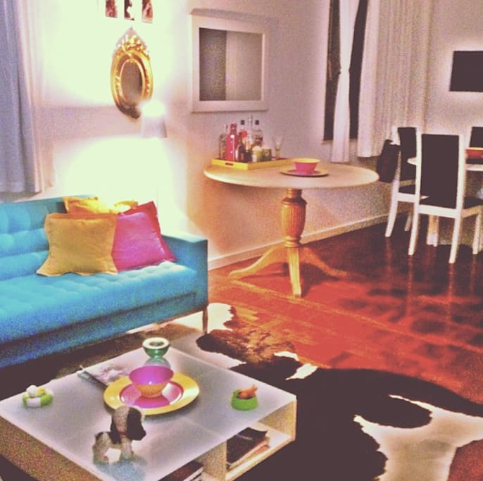 Living Room at Ipanema's Property