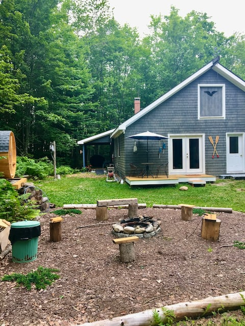 Canoe House Bungalow and Spa Retreat ,Searsport
