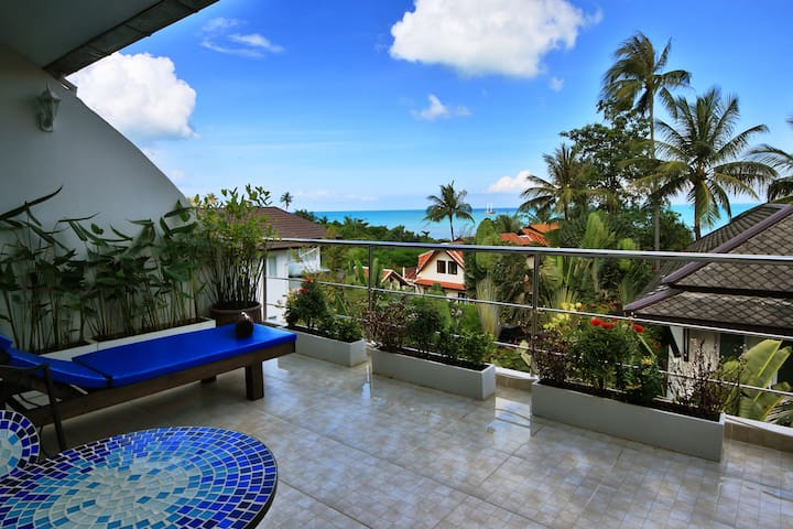 COMFORTABLE DUPLEX 3 CH a 70m de la plage - Ko Samui - Apartamento