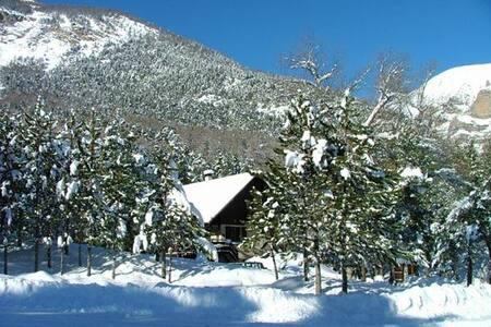 Gîte auberge les pinées - Châteauroux-les-Alpes - Chalé