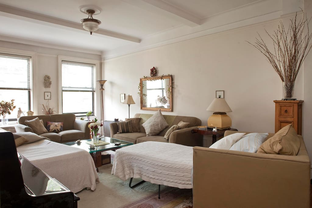 Beautiful upper west side sanctuary apartments for rent for Beautiful apartments in nyc