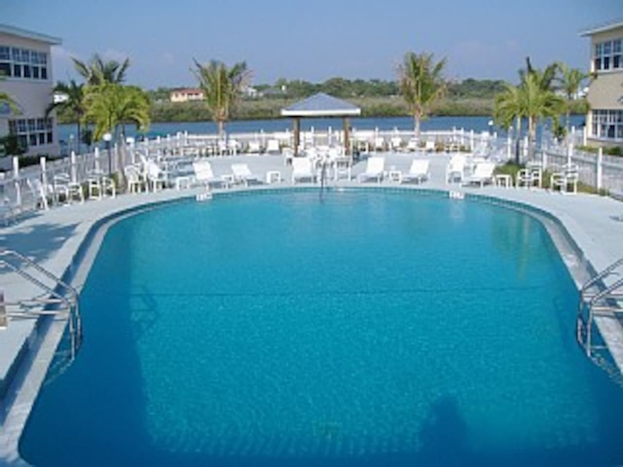 Largest pool in Indian Shores is just steps away