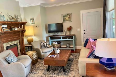 Explore AVL from this Stylish, Cozy Apartment