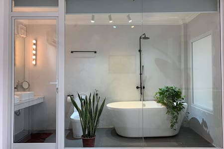 Psi❤️Luxury bath tub⭐️RooftopGarden⭐️HNOpera House