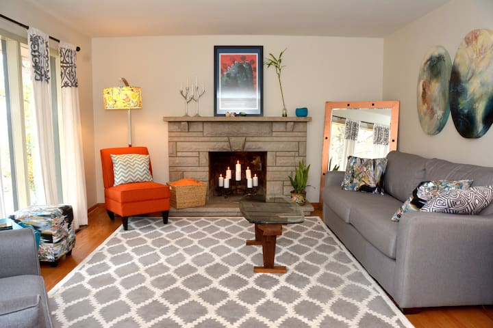 Cozy, cool home for Derby Weekend! - Louisville - Casa