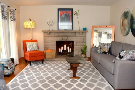 Cozy, cool home for Derby weekend - Louisville - Maison