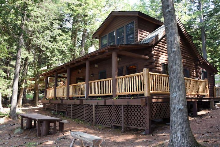 The Cabin on Gull Bay, Upper Saranac Lake, NY