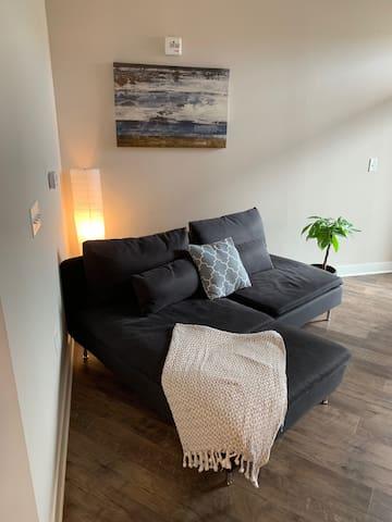 Luxurious 1 bedroom, 1 bath apartment