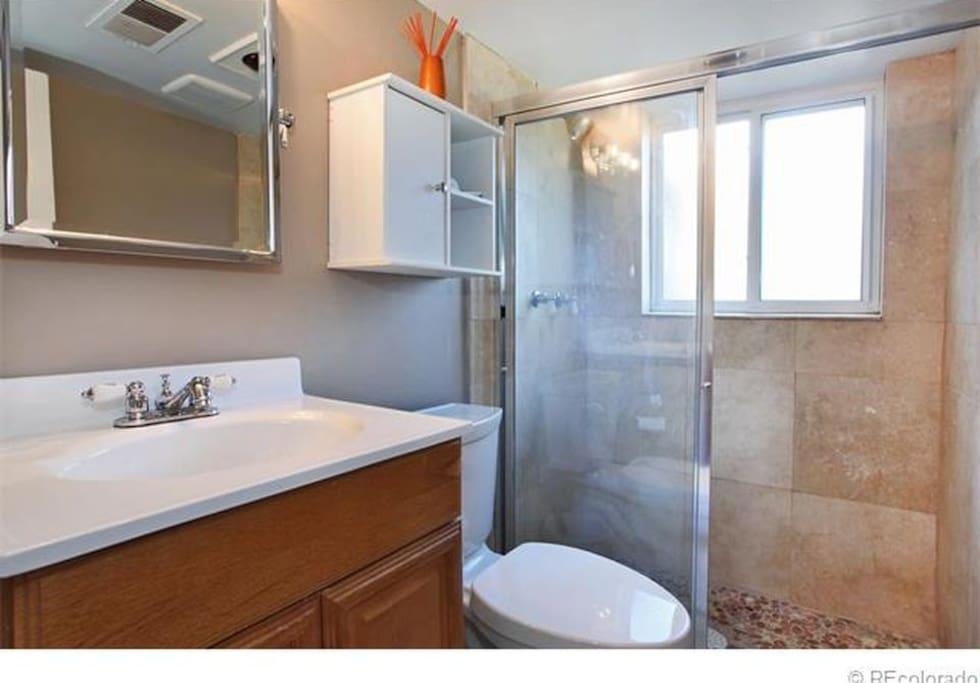 Large Warm Shower