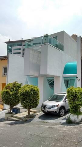 """Rento recamara """" Templanza"""" en Santa Fe - Ciudad de México - Dům"""