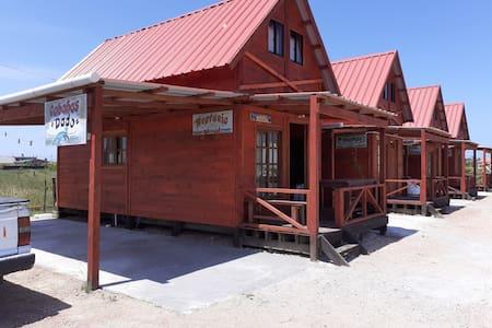 cabañas de madera 2 pisos muy comodas