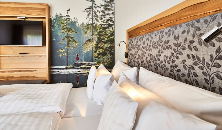 Restplatzzimmer im Hotel d Bäume (inkl. Frühstück)